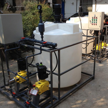 Units factory technical water