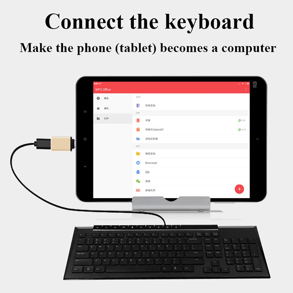 EONLINE USB Type C USB 3.1 OTG for Xiaomi MI4C Macbook Nexus 5X 6p USB Type C OTG Adapter Data Snyc Charging Cable Type-C USB-C
