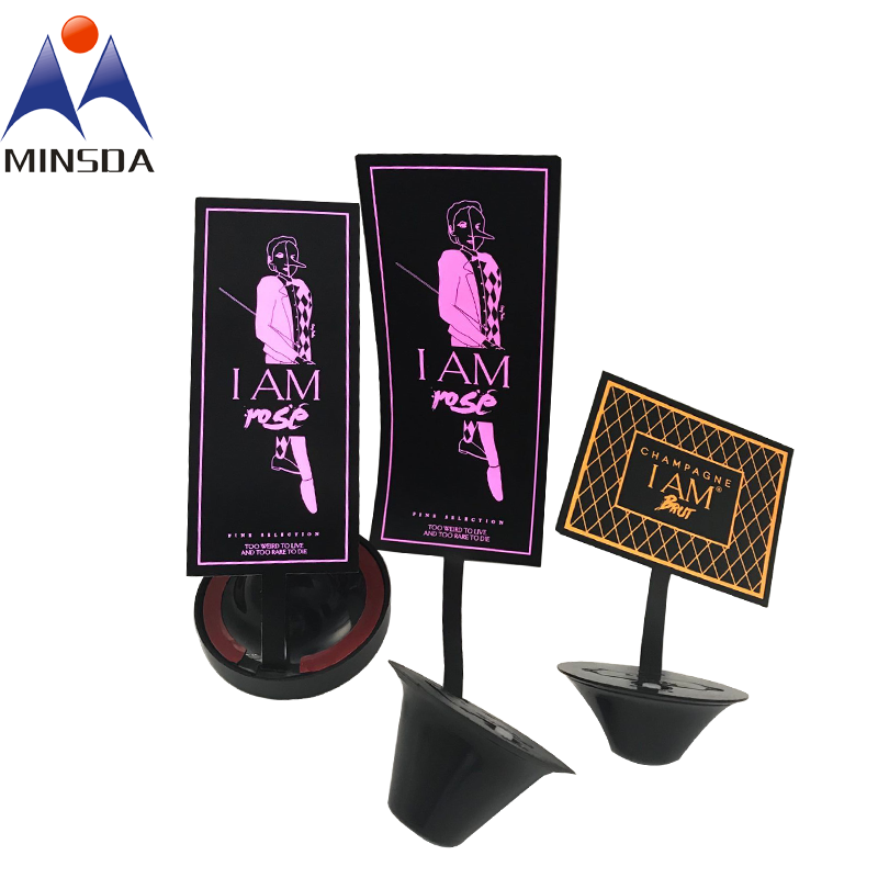 Custom Electroluminescent Labels Luminous Wine Label Wine