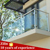 Stainless steel indoor railing for tempered glass railing / U channel glass railings/glass balustrade