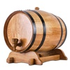 Retro Bar Round Oak 5L wine barrels storage wooden barrels beer barrels