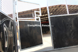 Good Quality farm equipment 3m*3m*2.2m horse stable, horse box with 10mm HDPE