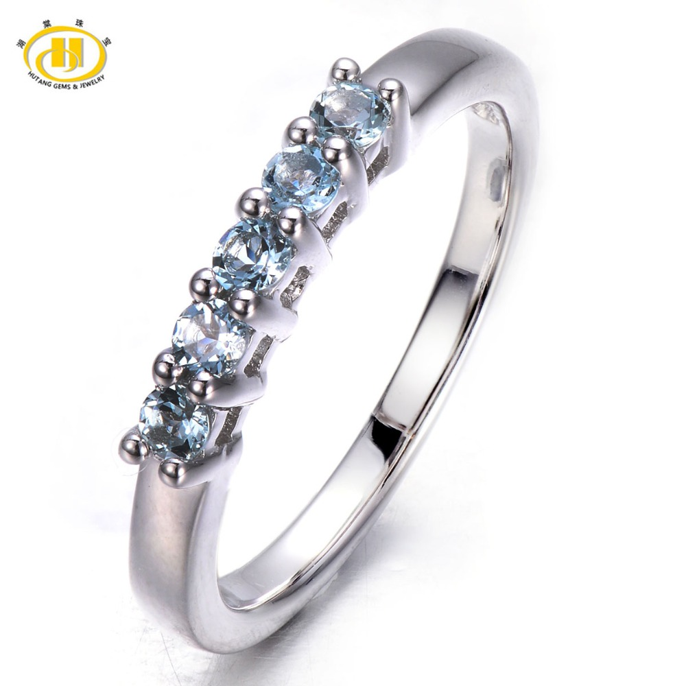 Aliexpress.com : Buy Hutang Five Stone Natural Aquamarine