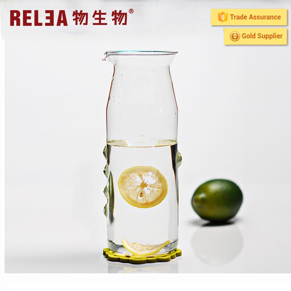 Relea Newly-designed Glass Water Jug With Lid
