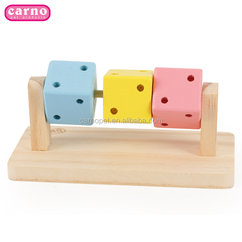 Carno New design interactive <strong>pet</strong> toys wooden toys for hamster small animal toys