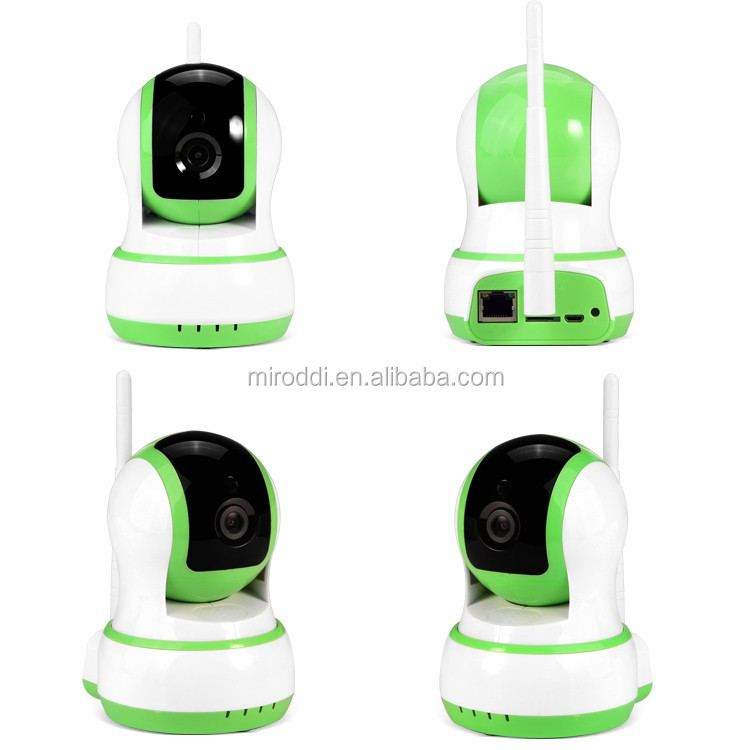 BW Hot Selling Product Plug and Play 720P Micro SD Card Wireless 360 Degree Camera