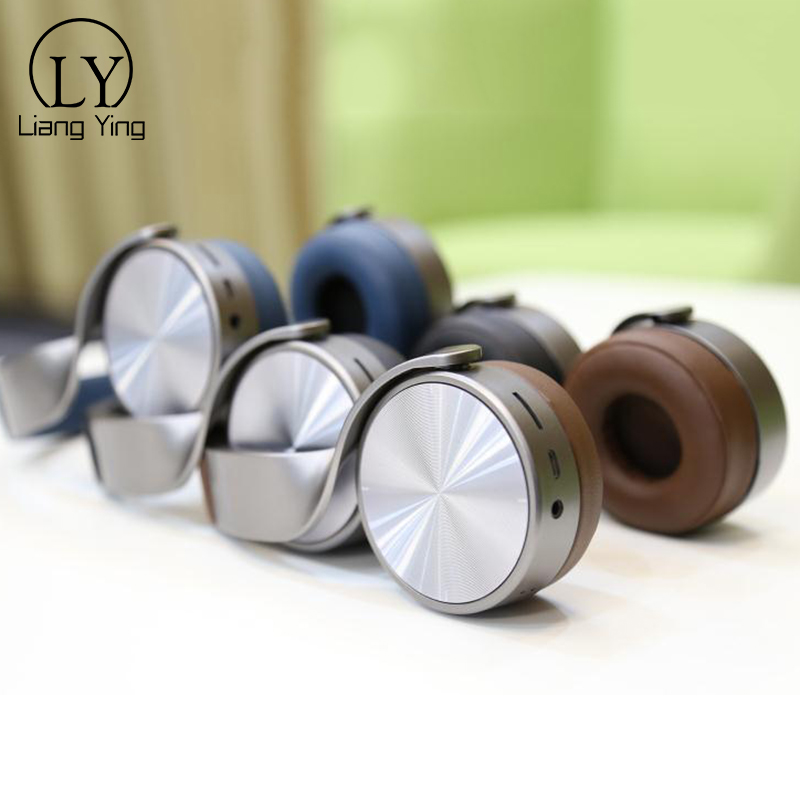 High Quality Metal Wireless Stereo Bluetooth Earphone Headphone