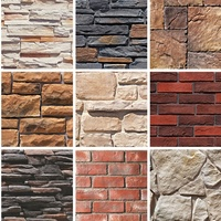 Chinese Good Quality Dry Stack Faux Stone Panels Faux Stone Wall Panels Wholesale Faux Fur Artificial Stone Brick