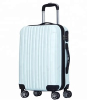 "Laggage Bag Travel Luggage Trolley ABS 20""24""28"" 3 PCS Set Luggage"