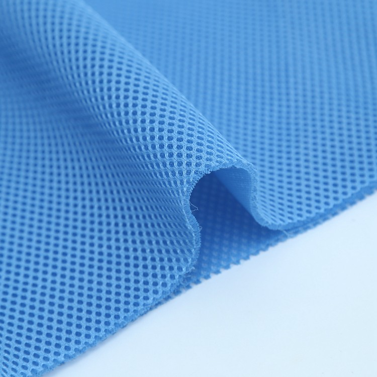 100% Polyester 3d sandwich air mesh fabric for sports shoes, backpacks,cushion,Mattress,officechair