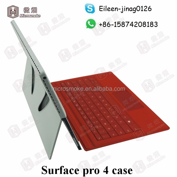 Surface pro 4 case silione protector cover Custom Fold Stand Flip surface pro 4 tablet Silicone case cover