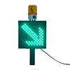 Toll station flashing canopy red cross green arrow LED Road lane traffic signal light