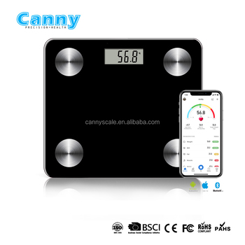 12 in 1 fat scale with bluetooth function 8user memory