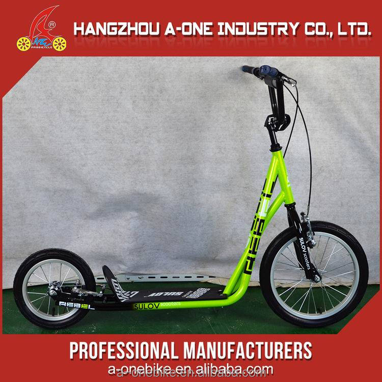 Fashion Stunt Price 2 Wheel Volume Produce Colorful Pro Flexible Scooter Bike For Selling