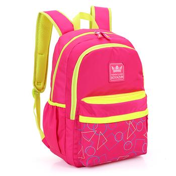 685ab5596d8 Fashion Pink Color School Bag Waterproof Nylon School Bags For Girls  Backpack - Buy School Backpack For Girl,School Bags For Girls  Backpack,School Bag ...
