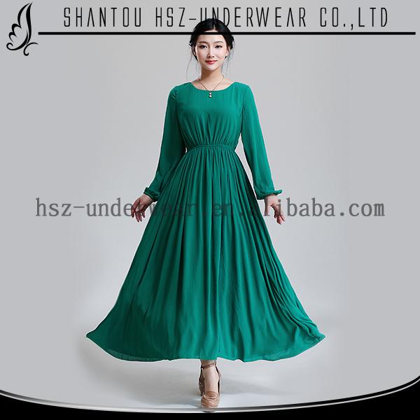 Md8160 Promotional Long Slevees Muslim Abaya Wholesale Plus Size ...
