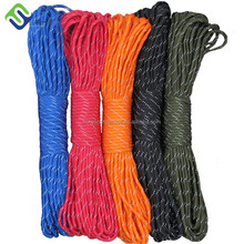 Outdoor Camping Equipment Nylon Braided Paracord Rope Paracord 550
