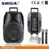 Professional active usb 2.0 speaker 25 w subwoofer bluetooth speakers