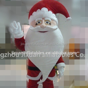 father christmas mascot / santa claus costume