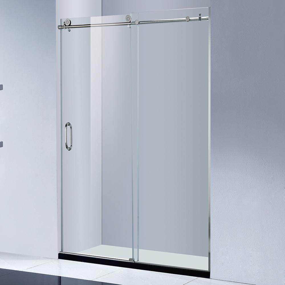 Frameless Sliding Glass Shower Barn Door Buy Sliding Glass Barn