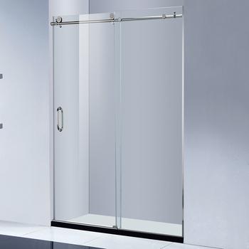 Frameless Sliding Gl Shower Barn Door Doors Raindrop Product On Alibaba