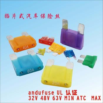 100pcs auto car 40a 40 amp maxi fuse 32v blade fuse with box buy rh alibaba com DC 6 Amp Fuse Reset DC 6 Amp Fuse Reset