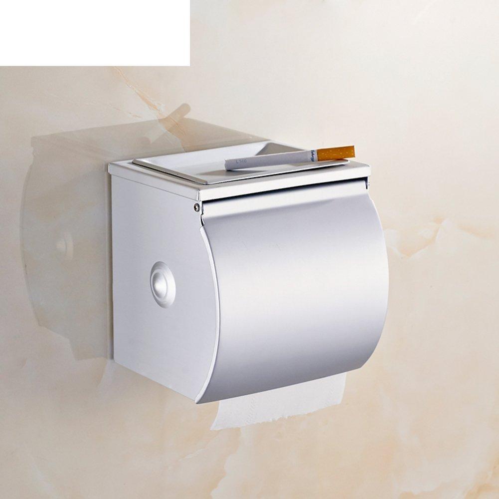 space aluminum Towel rack/Toilet tissue box/ bathroom toilet paper box/Hygienic tray/ waterproof toilet paper holder/ toilet roll holder-A
