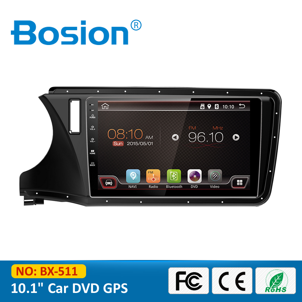 10.1 inch Quad Core Capacitive Touch Screen Audio Android GPS Radio Car DVD for City with 3G Wifi