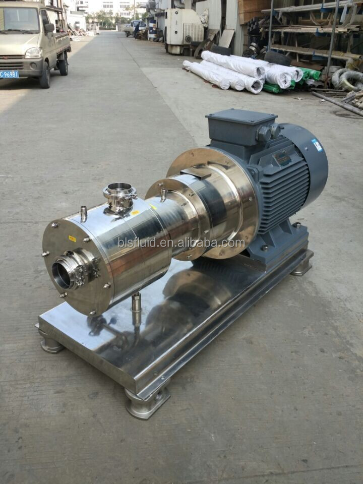 Hot sale BRL inline liquid and powder mixer pump