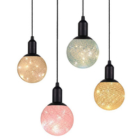 Rope Hanging Lighting Led Coton hanging light ,Fairy Warm Globe Ball Light For Home Curtain decoration