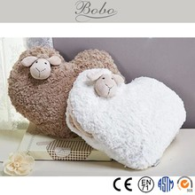 Cuddly plush cushion baby, baby cushion for baby player and home decoration