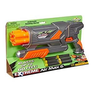 Buzz Bee Toys Air Warriors EXTREME Air Max 6 Blaster