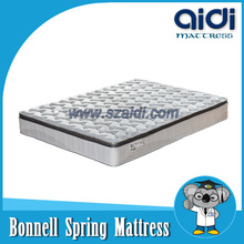 2015 New Arrivals Product 3E Organic Coconut Fiber Bonnell Spring Mattress With Breathable Latex CZT-B25