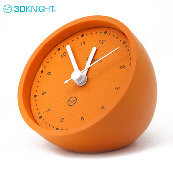Best Sale French Funky Time Orange Table Desk Clock