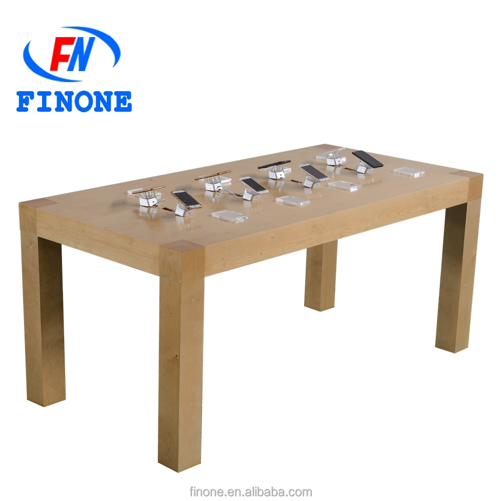wood mobile phone display table high quality cell phone display table mobile phone stores interior design watch showcase