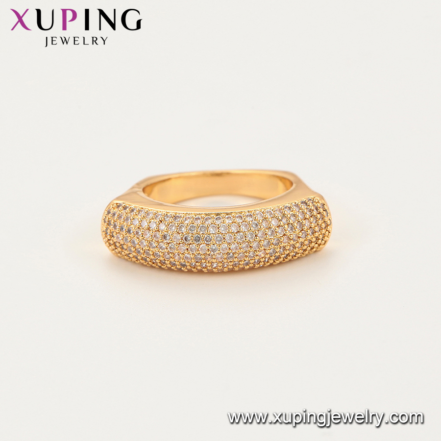 15841 Xuping vogue gold plated luxury jewelry diamond engagement ring