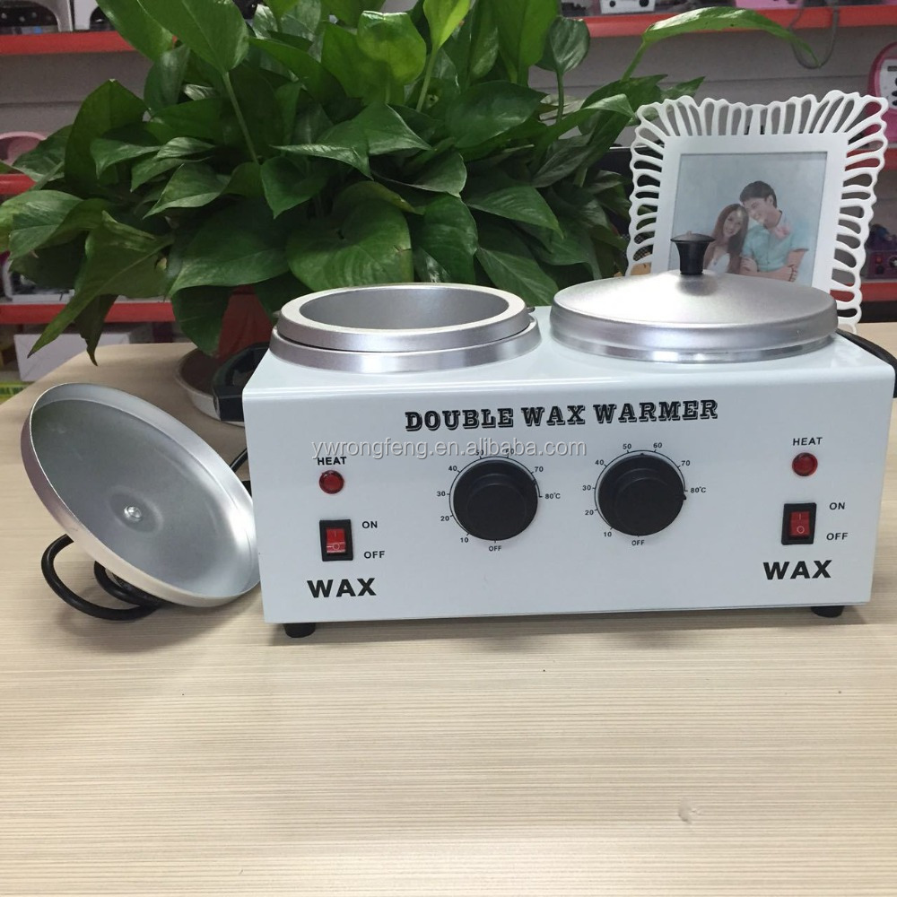 Fashionable Hot sale paraffin double pot cheap wax heater for home use