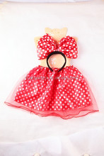 passion red fairy wings dresses swimwear with headband for girls wholesale