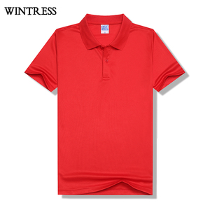 Wintress Color different high quality original polo shirts slim fit polo shirt, 88 polyester 12 elastane polo t shirt