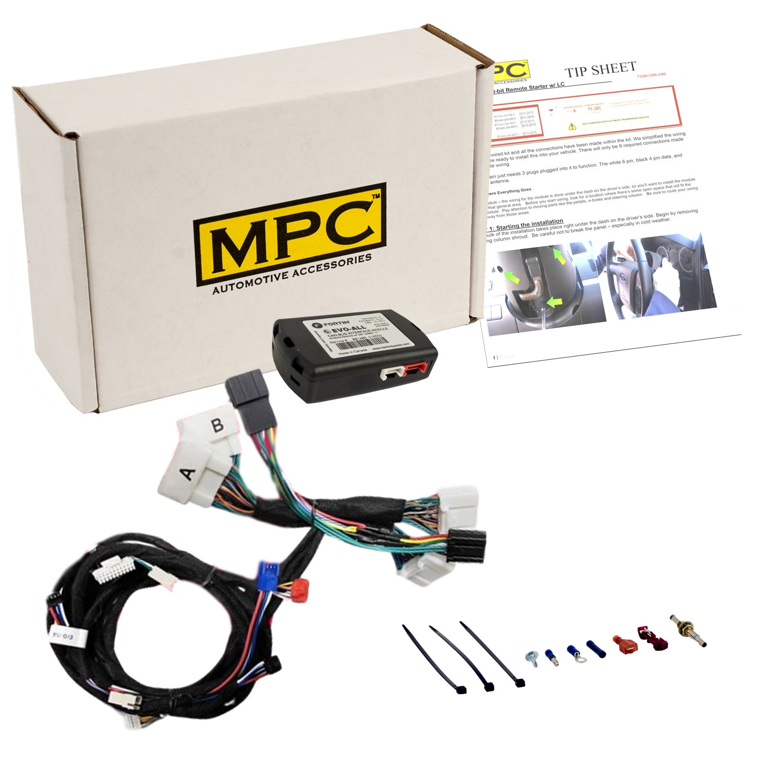 Get Quotations · Complete Add-On Remote Start Kit For 2016-2017 Toyota  Tacoma with T-