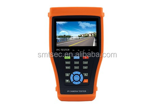 4.3 inches touch screen analog and ip camera tester PTZ CCTV Tester ip/hd-sdi camera tester / cctv tester (IPC 3400)
