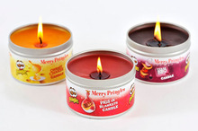 wedding ceremonies favor aromatic soy wax candle scented tealight metal tin candle