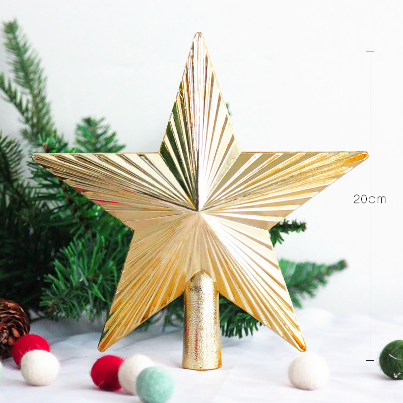 Customized Star Topper Of Christmas Tree Decoration Ornament
