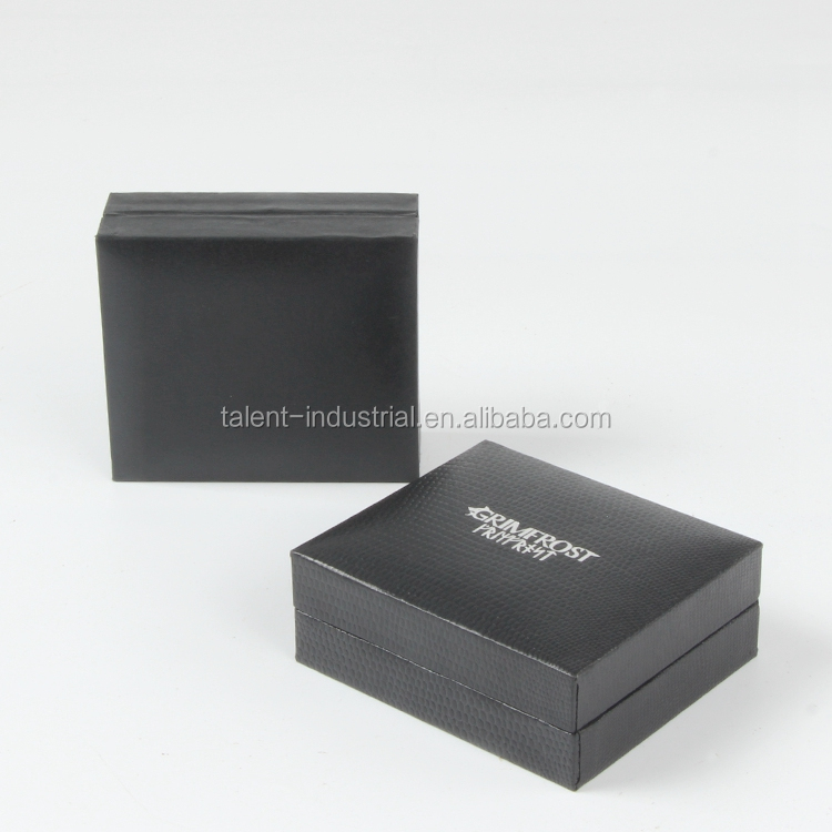 Fashion High-end Leather Commemorative Badge Coin Medal Display <strong>Box</strong> With Logo Printing