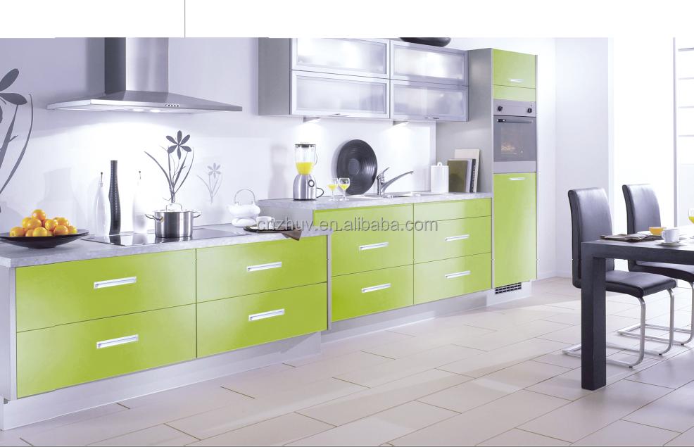 De alto brillo uv mdf mueble cocina puertas cocinas identificación ...