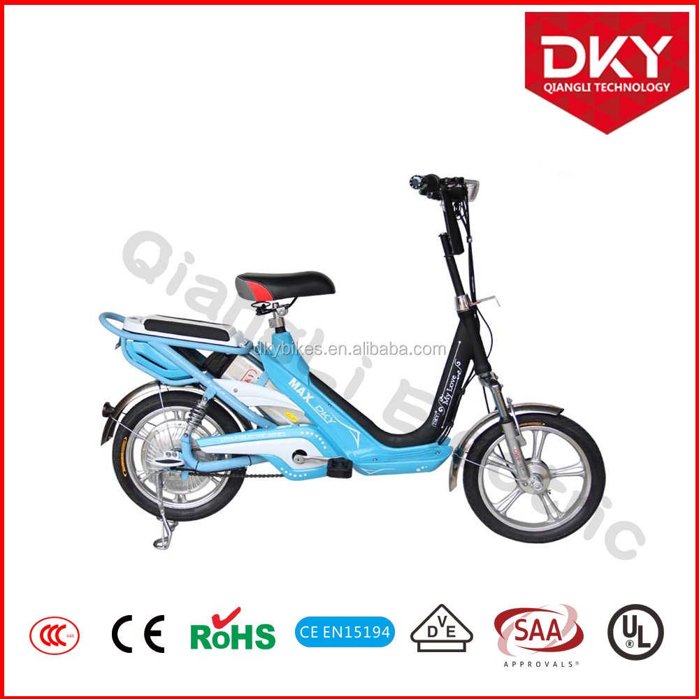 Very Beautiful Cheap Electric Bicycle City Bike E Bike for Lady