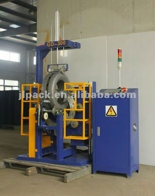 Motorcycle tire coil packing machine