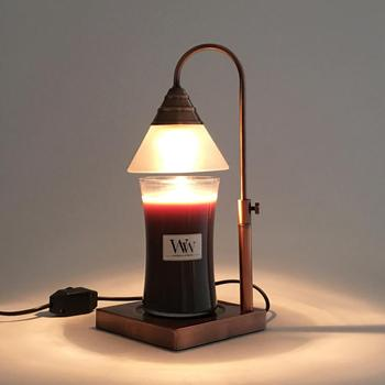 Adjusted Height Halogen Bulb Candle Warmer Lamp With Glass