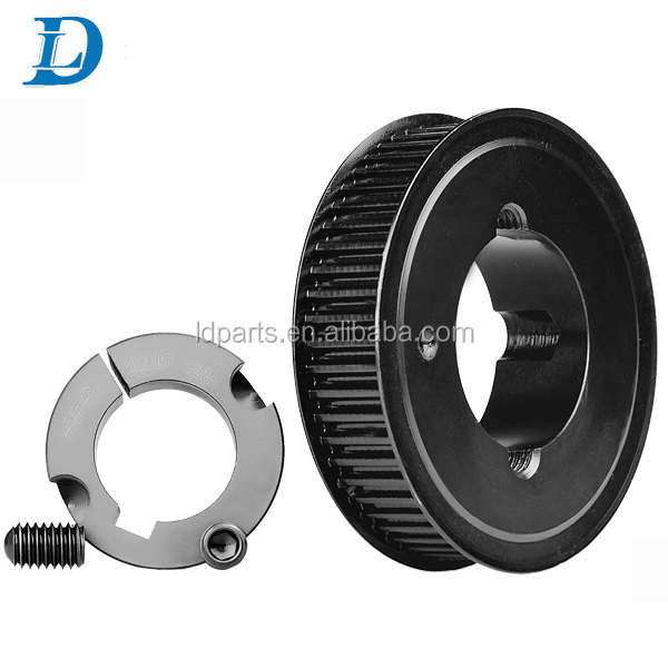 Cast Iron Timing Belt HTD5M GT2 Pulley with 3mm Bore