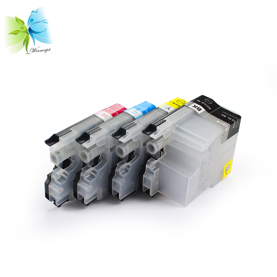 Compatible empty LC3219 ink cartridge for BROTHER inkjet printers